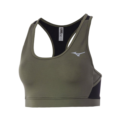 Women's Alpha Mesh Back Sports Bra (4K4K - beetle)