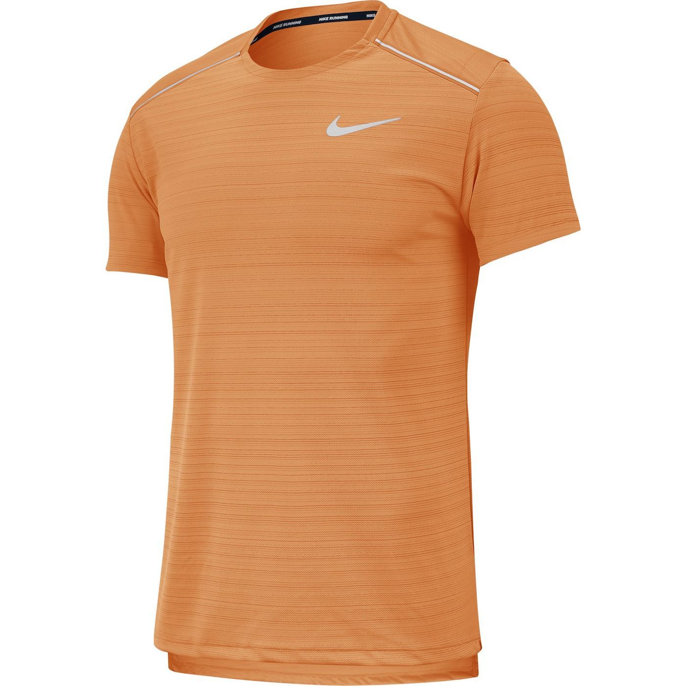 Men's Dry Miler Top SS (806-alpha orange/reflective silver)