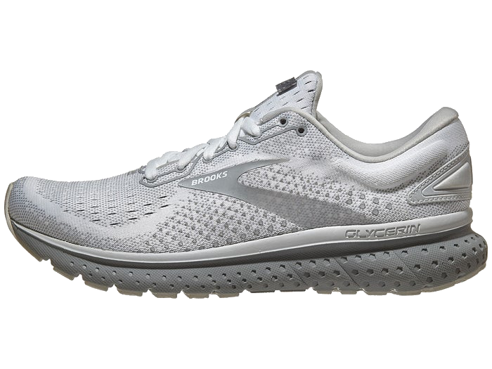 Women's Brooks Glycerin 18 (189 - white/grey/primer)