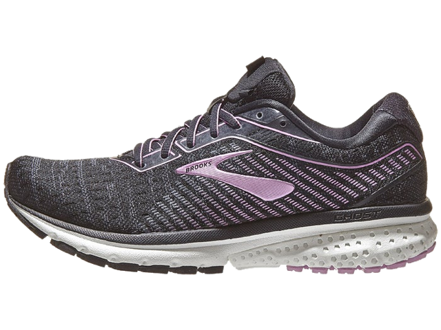 Women's Ghost 12 (081 - black/ebony/valerian)