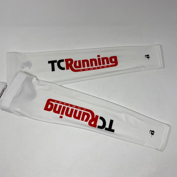 TC Running ARM SLEEVES - White
