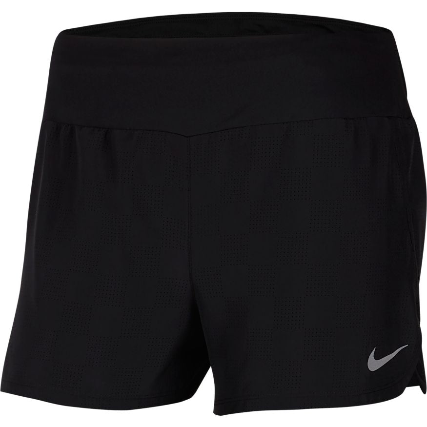 Women's Crew Short (010 - black/reflective silver)