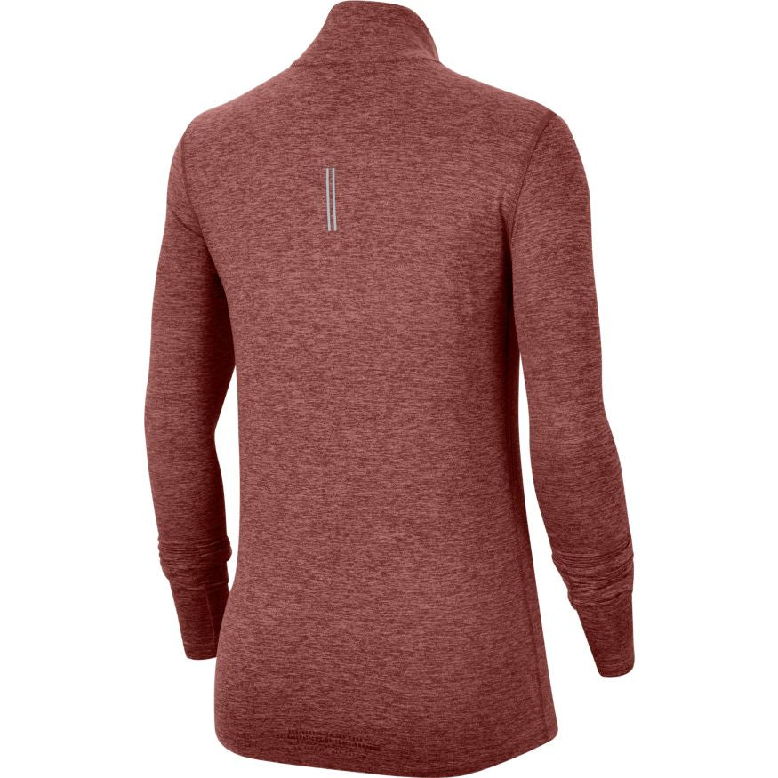 Women's Element 1/2 Zip Trail Top (652 - Claystone Red/Reflective Silver)