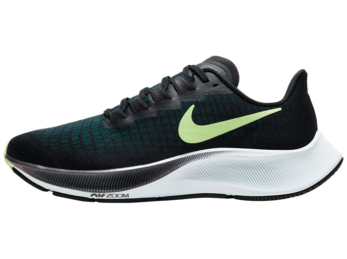 Women's Zoom Pegasus 37 (001 - black/ghost green)