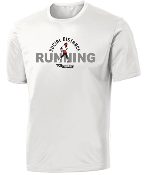 Men's Social Distance Running Tee
