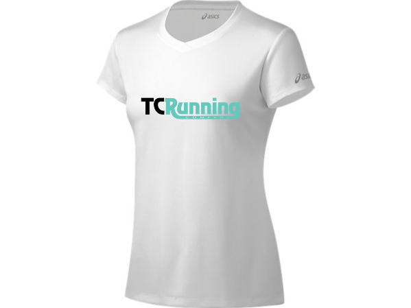 Women's TCRC Ready-Set SS Tee (01 - white/black/mint)