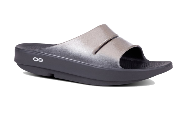 Women's OOahh Luxe Slide Sandal (black/latte)