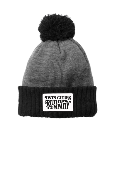 TCRC Woodcut Winter Pom Hat