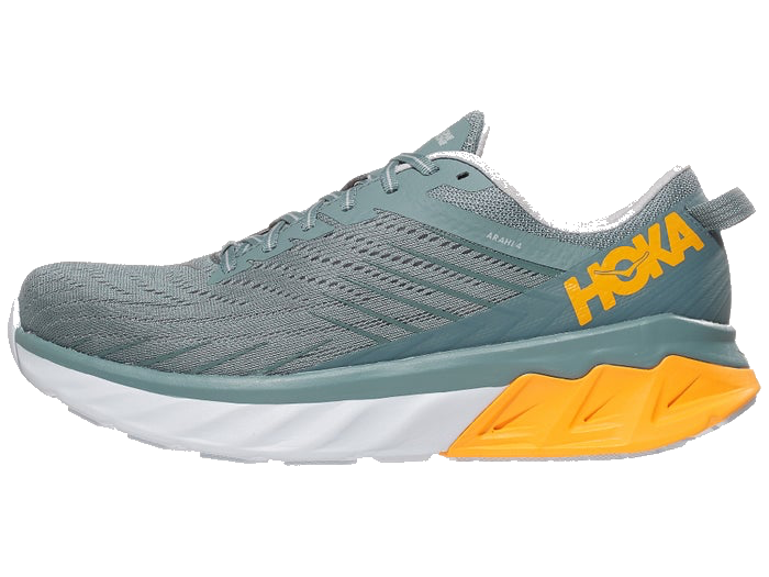Men's HOKA ONE ONE Arahi 4 (LLRC - lead/lunar rock)