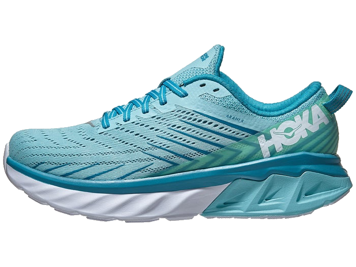 Women's HOKA ONE ONE Arahi 4 (ASCS – Antigua Sand/Caribbean Sea)
