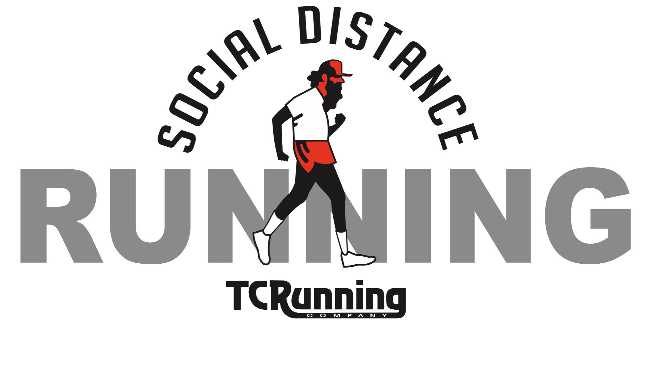 Women's Social Distance Running Tee
