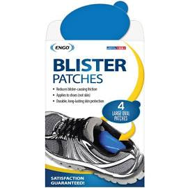 Large Oval Blister Patch (4 Pack)