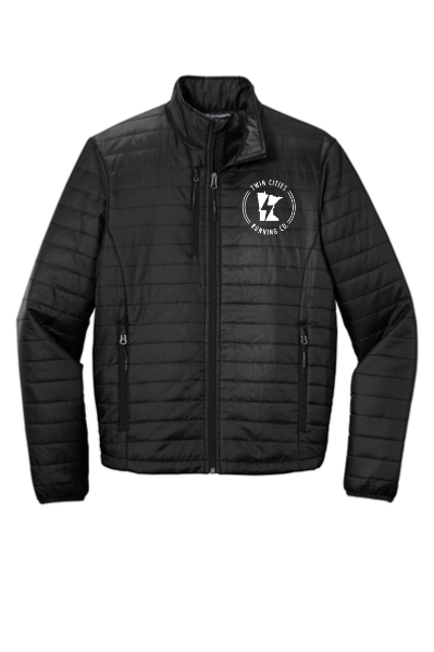 Men's TCRC Packable Puffy Jacket (black)