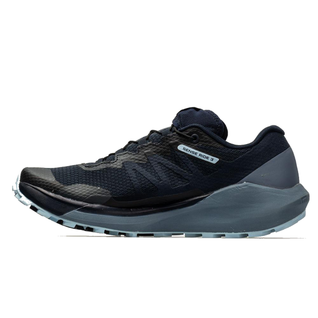 Women's Salomon Sense Ride 3 (navy blazer/flint stone/angel falls)