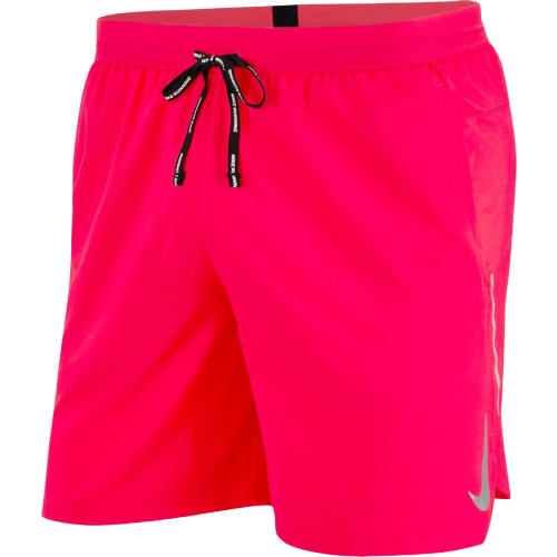 "Men's 5"" Flex Stride Short (644 - laser crimson/reflective silver)"
