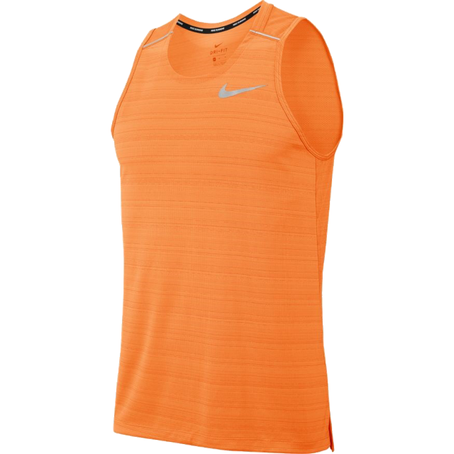 Men's Dri-Fit Miler Tank (806 - orange)