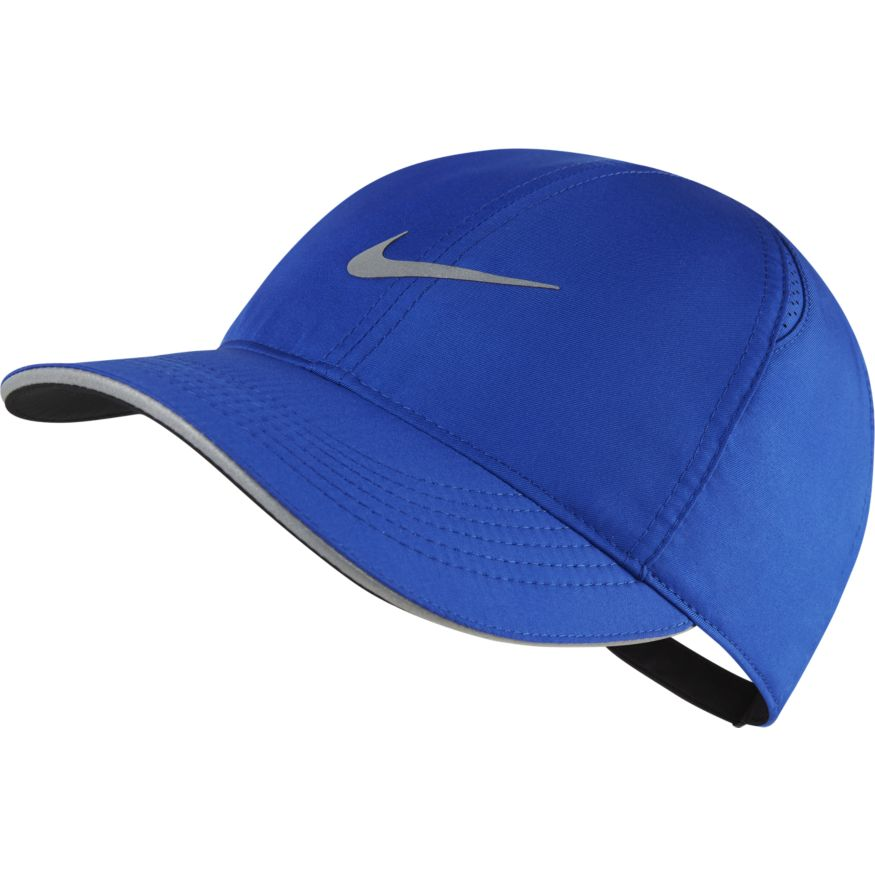 Women's Featherlight Running Cap (480 - game royal/reflective silver)
