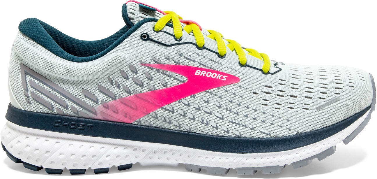 Women's Ghost 13 (154 - Ice Flow/Pink/Pond)
