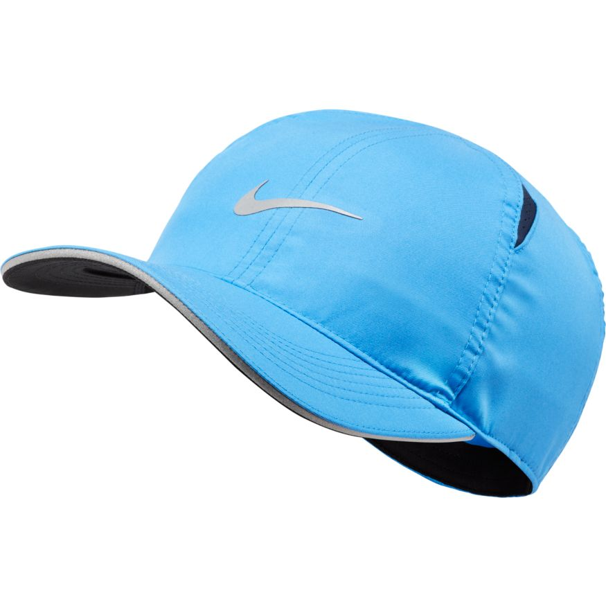 Unisex Featherlight Running Cap (402 - pacific blue/reflective silver)
