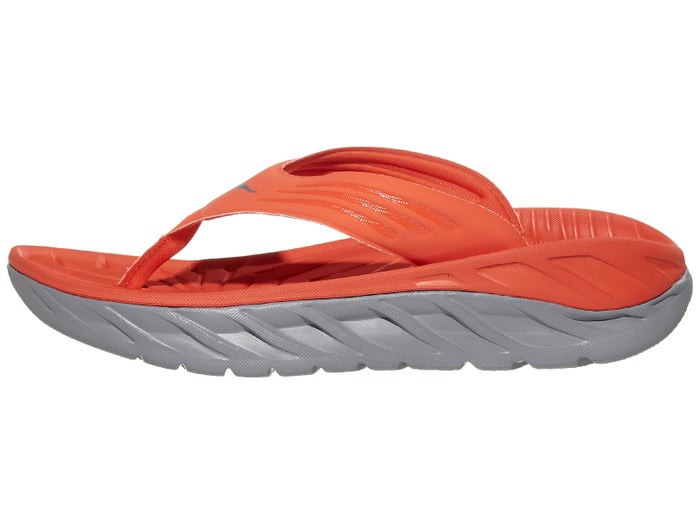 Men's Ora Recovery Flip (MRWDV - mandarin red/dove)