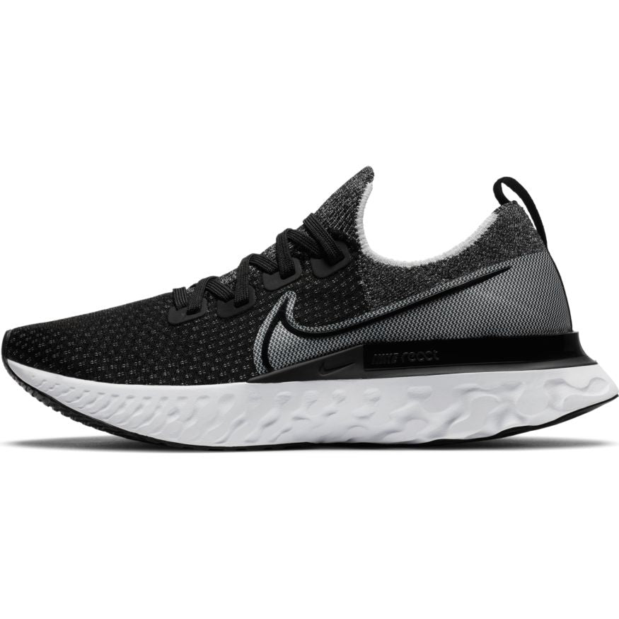 Men's React Infinity Run Flyknit (012 - black/white/white)