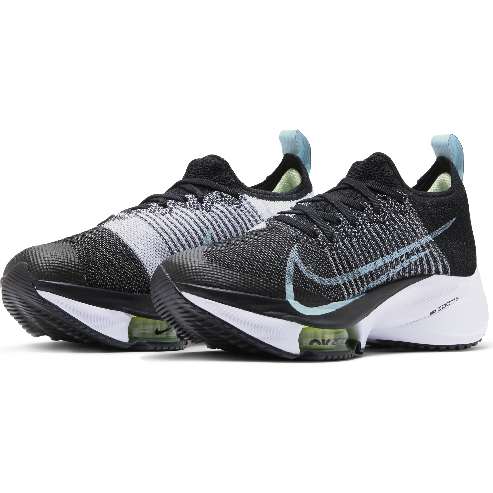 Women's Air Zoom Tempo Next% (001 - Black/Glacier Ice-White-Barely Volt)