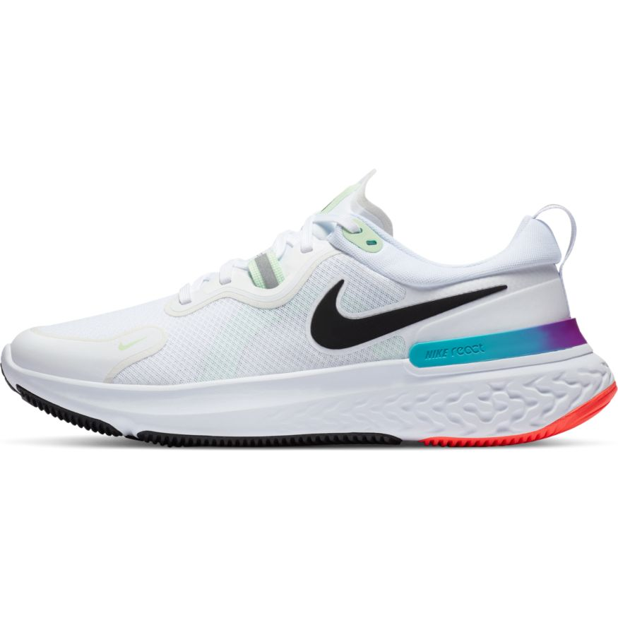 Men's React Miler (102 - white/vapor green/hyper jade/black)