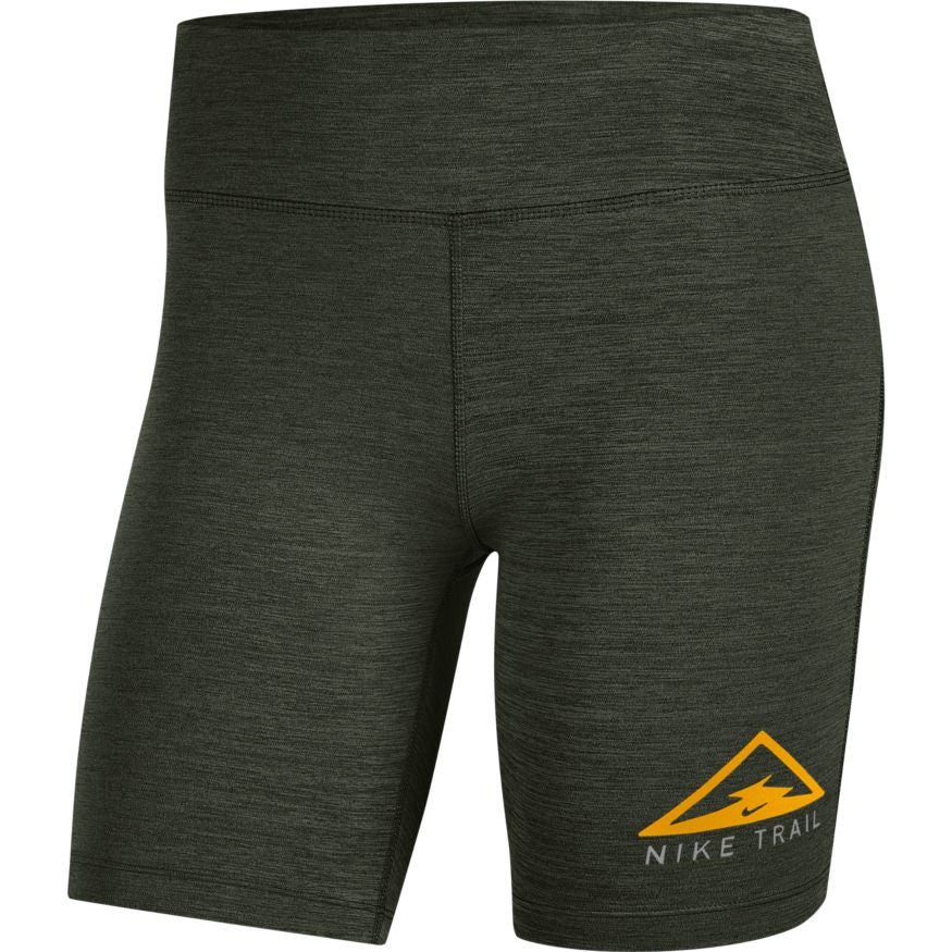"Women's 7"" Trail Running Short Tight (355 - Sequoia/Medium Olive/Heather)"