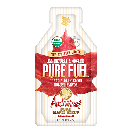 Pure Fuel Maple Syrup Pouch