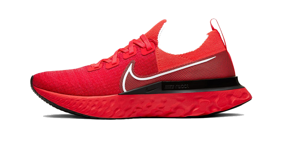 Men's React Infinity Run Flyknit (600 - bright crimson)