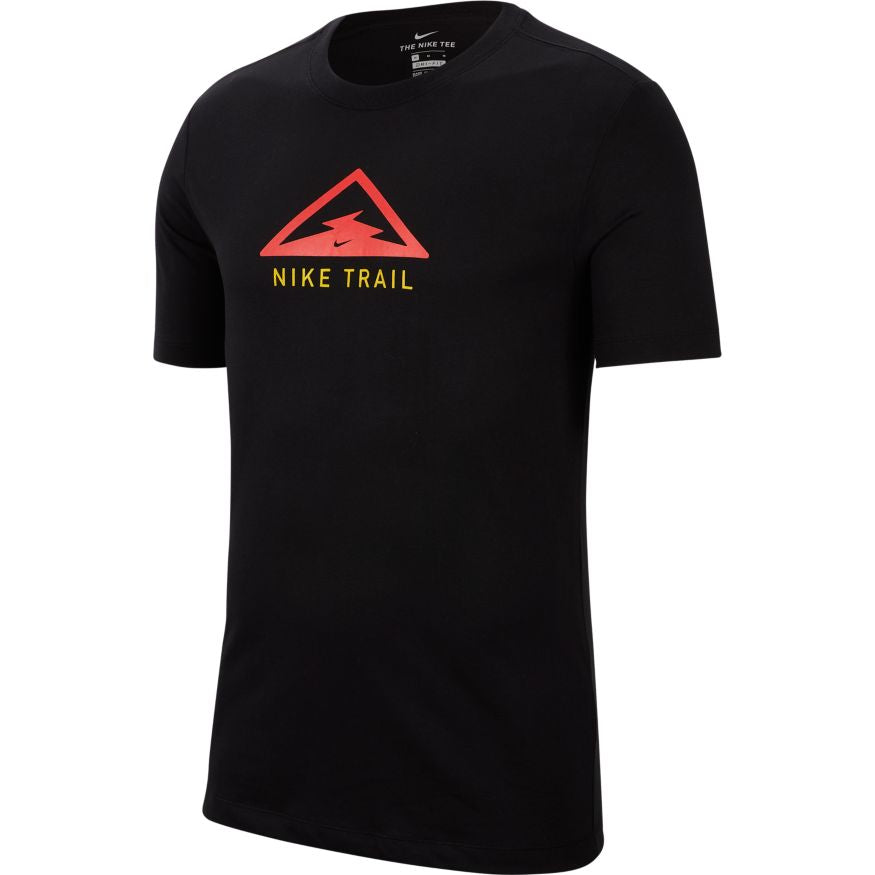Men's Dri-Fit Trail Short Sleeve Tee (010 - black)