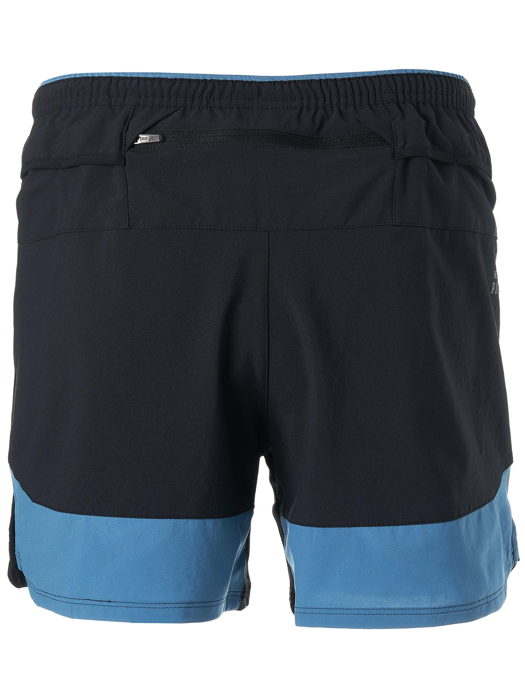 "Men's Impact Run 5"" Short (MAK - mako blue w/ black)"
