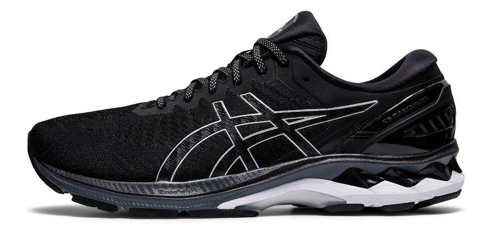 Men's Gel-Kayano 27 (001 - black/pure silver)