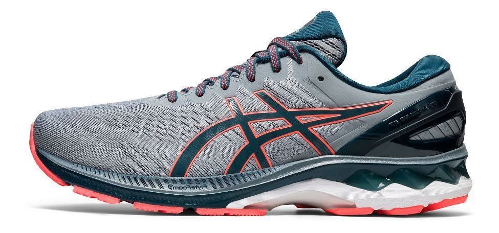 Men's Gel-Kayano 27 4E Extra-Wide (021 - sheet rock/magnetic blue)