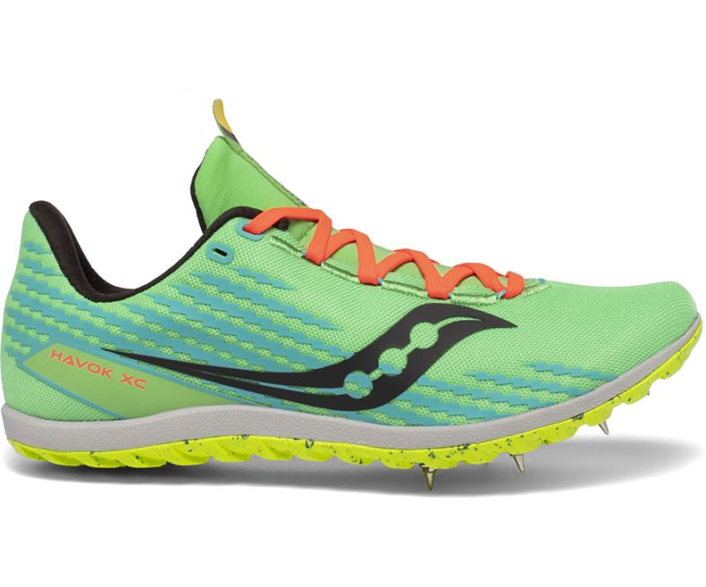 Men's Havok XC 3 (10 - Green Mutant)
