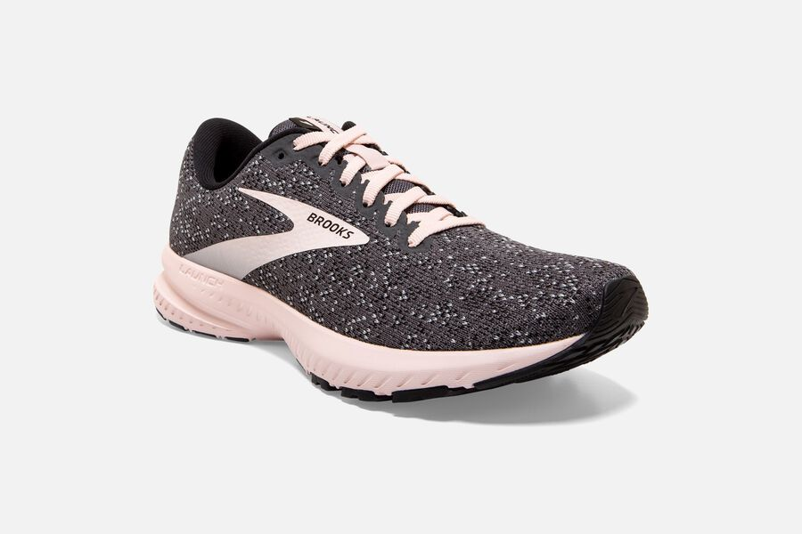 Women's Launch 7 (062 - black/pearl/hushed violet)