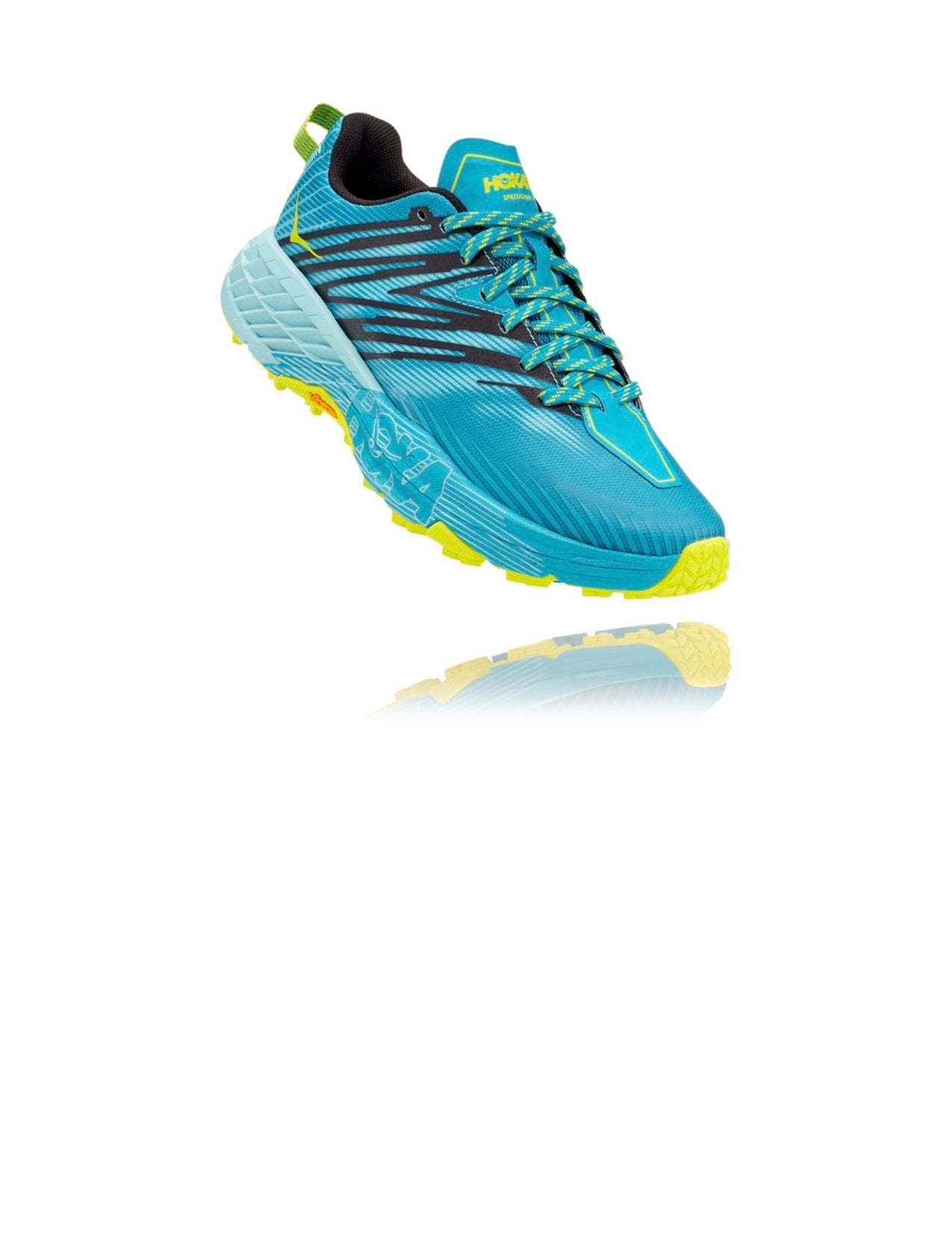 Women's Speedgoat 4 (CBAB - capri breeze/angel blue)