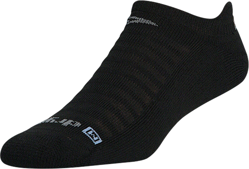 Running Lite-Mesh No Show Tab (Black)