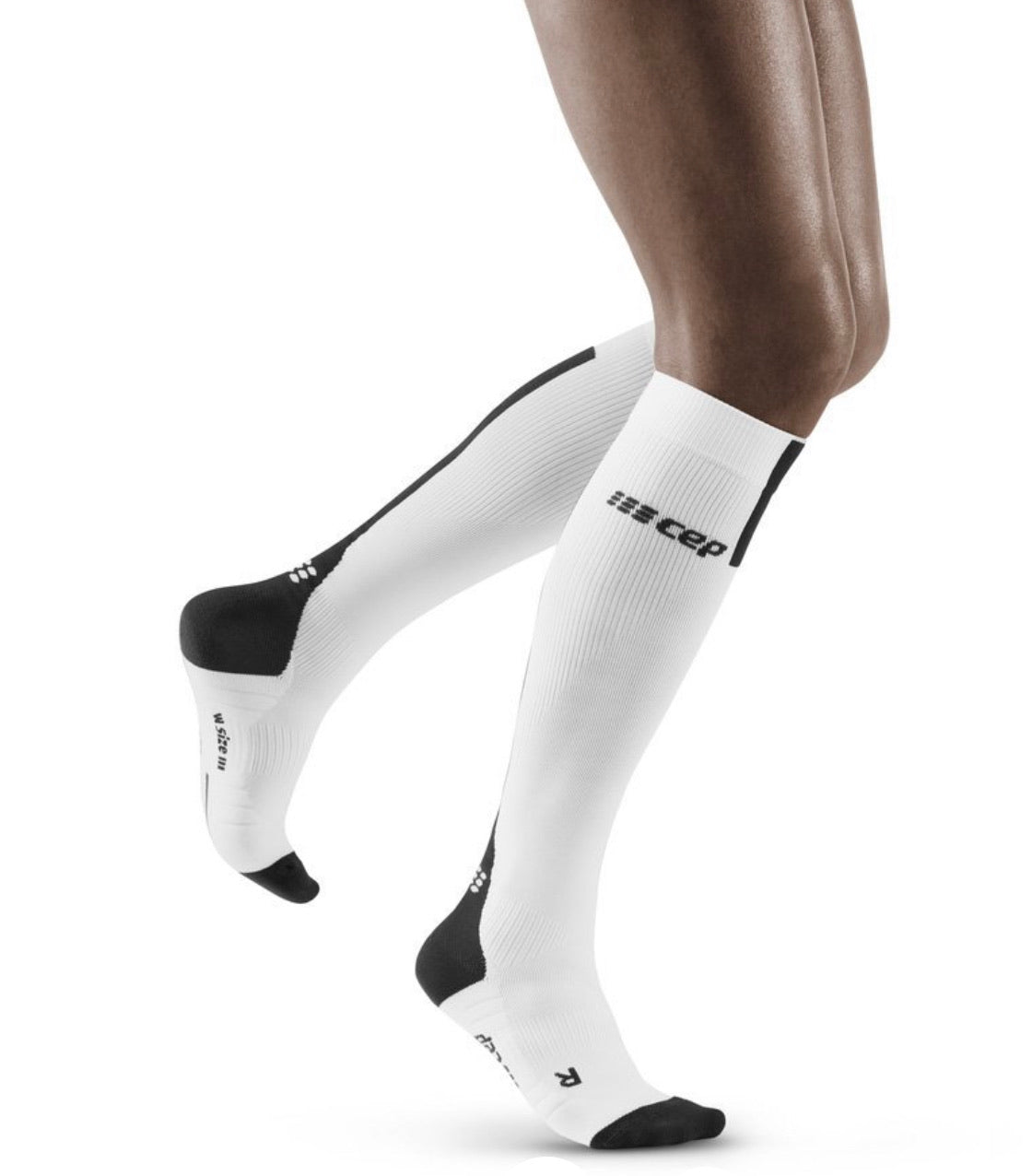Women Tall Compression Socks 3.0 (White)