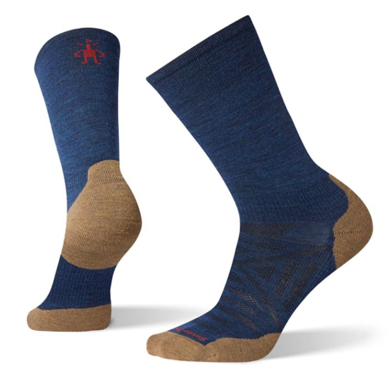 PhD® Run Light Elite Crew Socks Alpine Blue