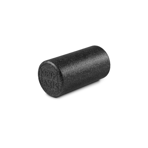 OPTP Black AXIS® Firm Foam Roller 12""