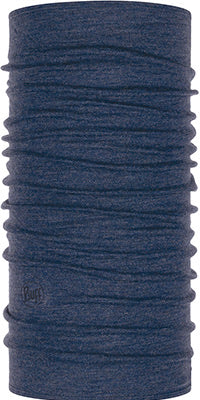 Midweight Merino Wool Night Blue Melange