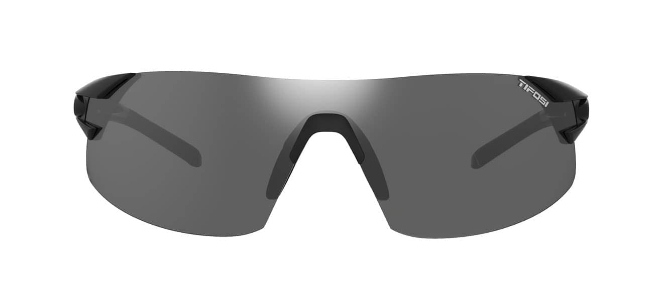 PODIUM XC | MATTE BLACK SMOKE, AC RED & CLEAR LENSES