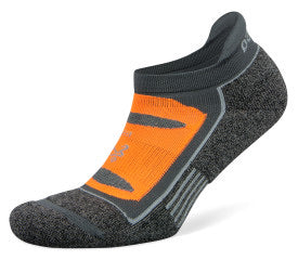 Blister Resist No Show Running Socks Midgrey