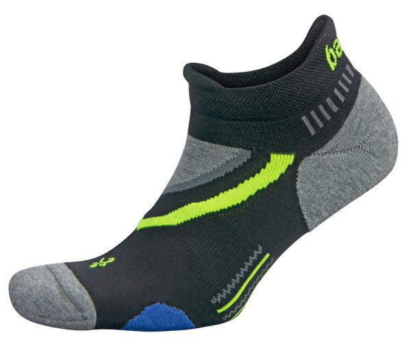 UltraGlide No Show Running Socks Black