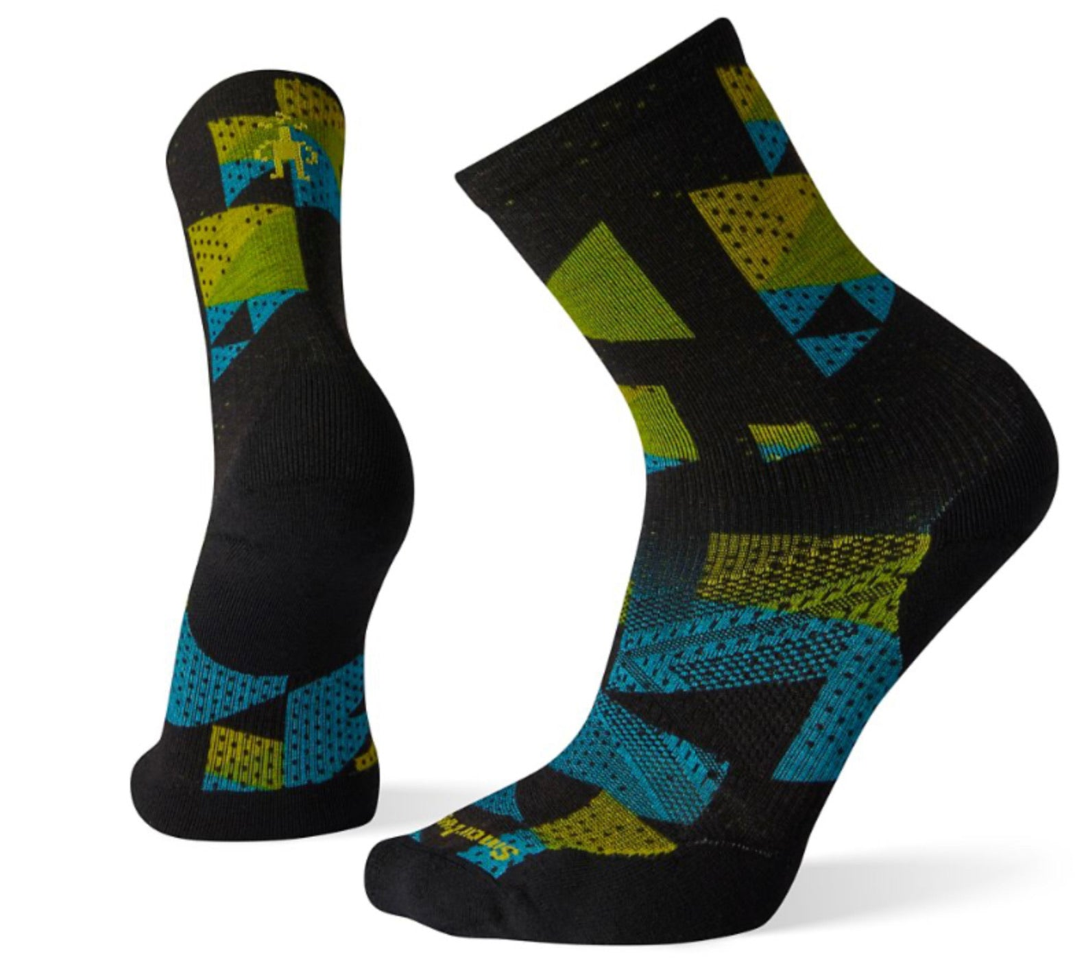 PhD® Run Light Elite Crew Socks Print