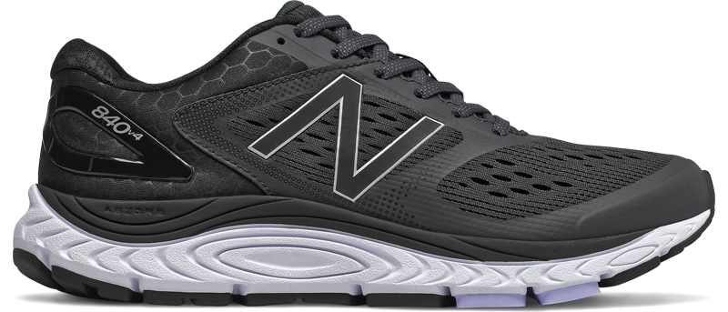 Women's New Balance 840 v4 (BK - black/white)