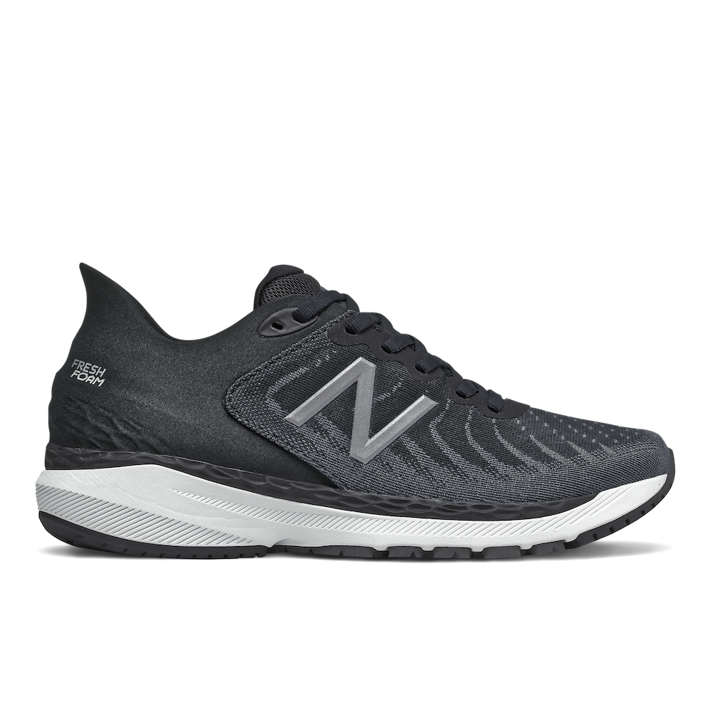 Women's 860 v11 (B - black/white/lead)