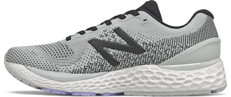 Women's 880 v10 (D - Light Aluminum/Black/Mystic Purple)