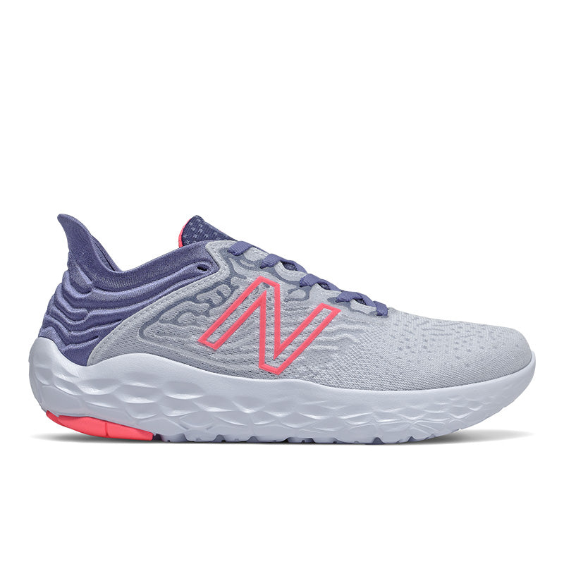 Women's Fresh Foam Beacon v3 (BG - Moon Dust/Magnetic Blue/Guava)